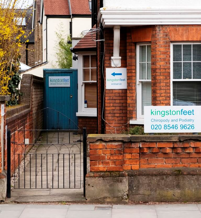 The side gate at kingstonfeet clinic